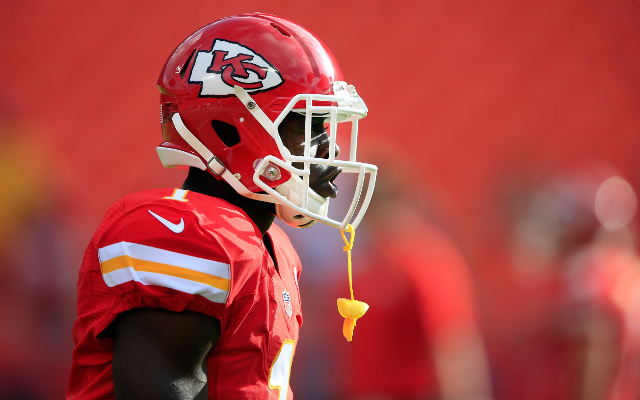 Kansas City Chiefs running back doubtful for Sunday