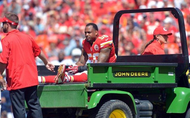 INJURY: Kansas City Chiefs LB Johnson, DT Devito rupture Achilles