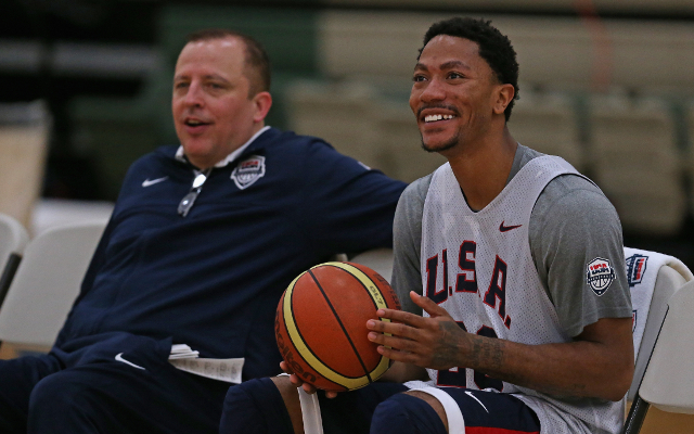 FIBA World Cup: USA star Derrick Rose rates his performances an 'A'