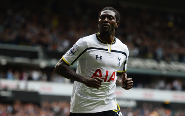 Emmanuel Adebayor: Five possible destinations including SHOCK return to former club
