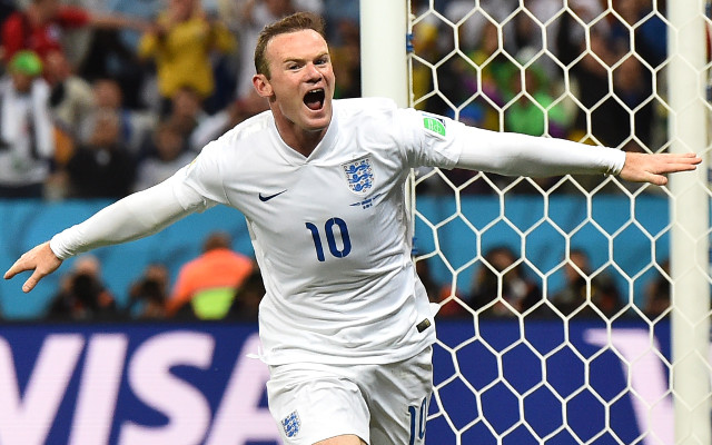 Wayne Rooney's 100th England cap: Man United star moves ninth on all time Three Lions record