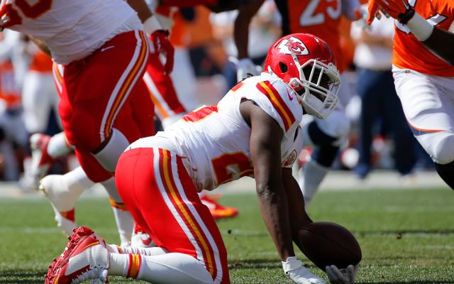 Kansas City Chiefs running back Jamaal Charles returns to practice