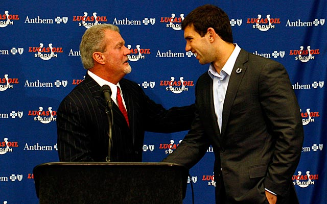 Indianapolis Colts owner says team will not extend QB Andrew Luck in 2015