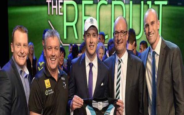 Port Adelaide sign winner of reality TV show The Recruit