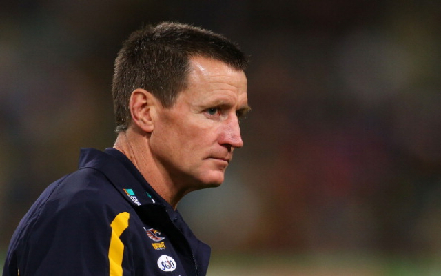 Former West Coast Eagles coach John Worsfold rules himself out of Carlton job following Mick Malthouse sacking