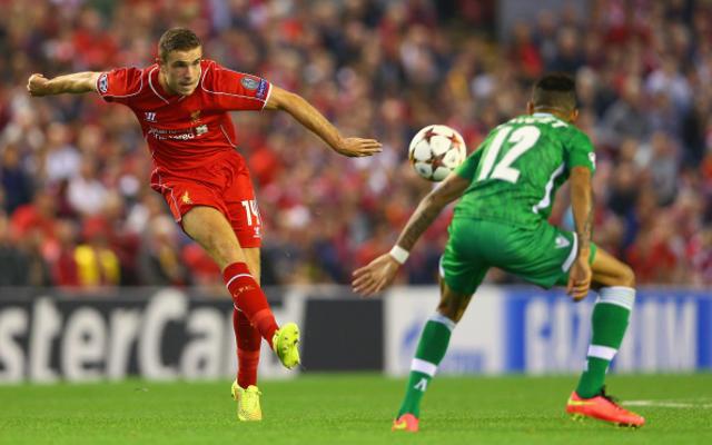 Steven Gerrard: Jordan Henderson will make excellent Liverpool captain
