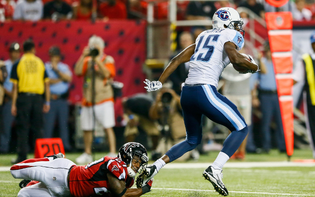 INJURY: Tennessee Titans WR Justin Hunter still in hospital after spleen injury