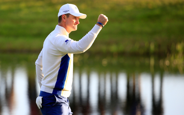 (Video) Ryder Cup 2014 – Justin Rose earns worldwide recognition with putts worthy of lifting the trophy