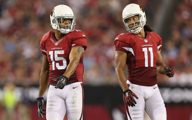 Arizona Cardinals wide receiver played season opener with knee injury