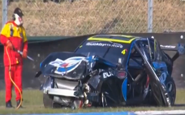 (Video) 'My life flashed before my eyes': Aussie V8 Supercars driver Lee Holdsworth survives terrifying 265km/h crash