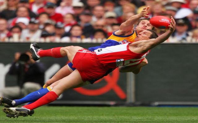 Top 5 greatest AFL Grand Final moments, including Leo Barry's match-winning mark for Sydney Swans in 2005
