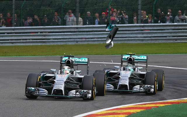 Lewis Hamilton wins the Italian Grand Prix from Nico Rosberg