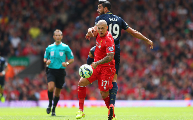 Liverpool defender Martin Skrtel offered Anfield exit
