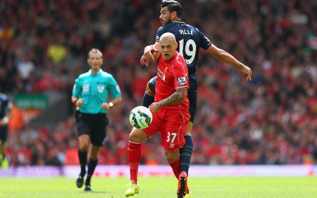 Liverpool defender Martin Skrtel offered Anfield exit