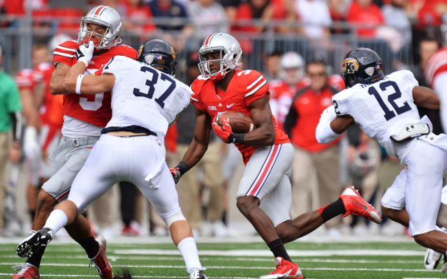 (Video) Ohio State wide receiver Michael Thomas runs for 63-yard TD