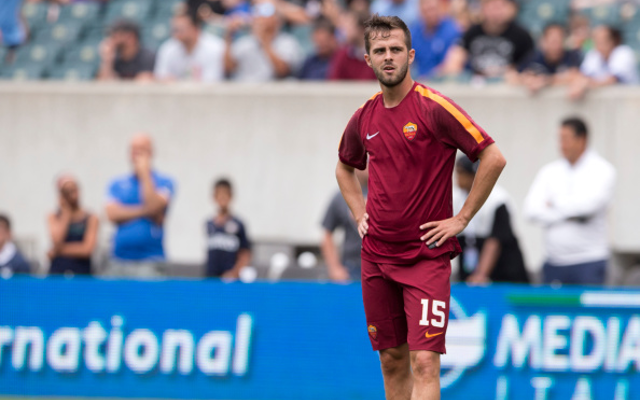 (Image) Liverpool boss spotted in Rome with Miralem Pjanic talks on the agenda