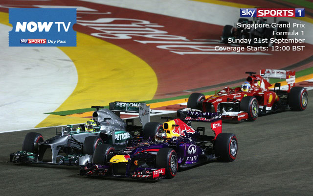 Private: Live F1 streaming and Singapore grand prix qualifying preview