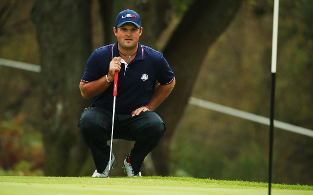 (Video) Has Patrick Reed totally lost it?! The young American silences the crowd at the Ryder Cup