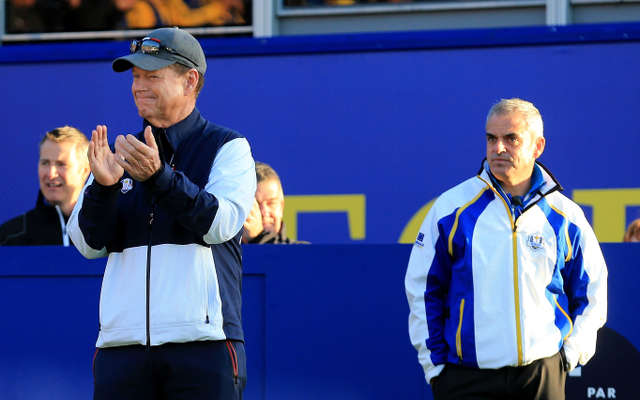 Ryder Cup day one foursomes announced: USA Captain Tom Watson drops top performers