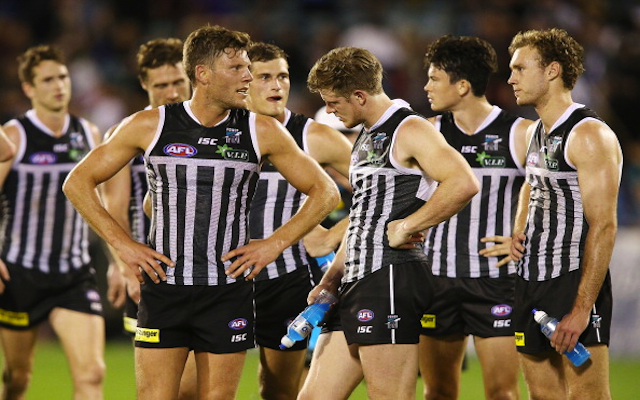 Port Adelaide to wear 'prison bar' guernsey against Richmond after elimination final dispute with AFL