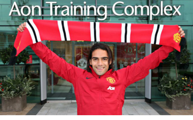 Radamel Falcao is one of the best says Manchester United captain Wayne Rooney