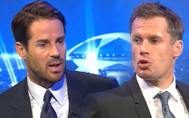 (Video) Hilarious! Jamie Carragher accidentally scoffs at Newcastle manager suggestion