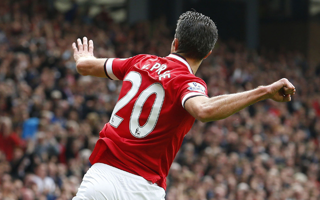 Robin van Persie believes that Arsenal lack the winning mentality of Manchester United