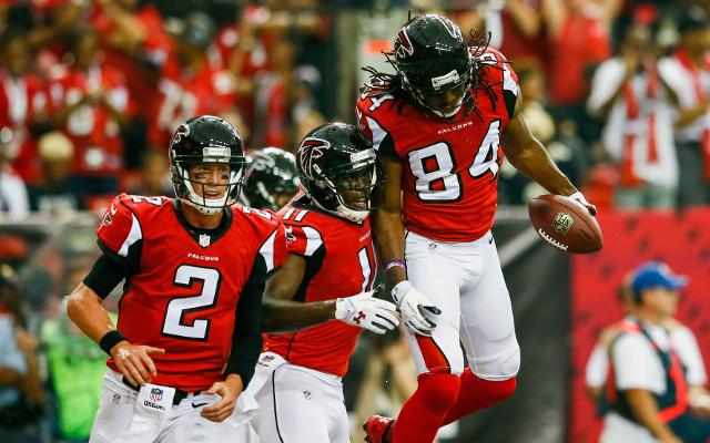 Atlanta Falcons offense sets lofty goal for 2014 season