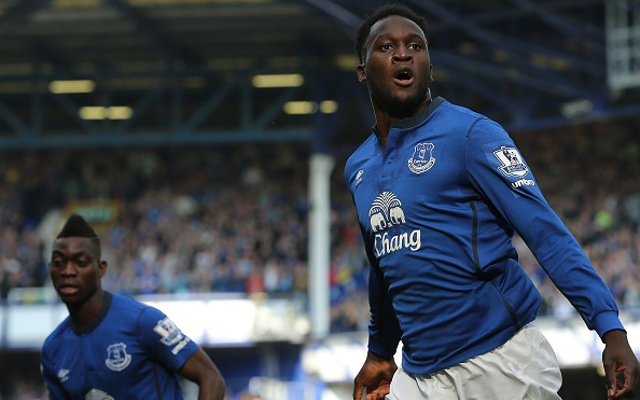 (Video) Ex-Chelsea striker Romelu Lukaku nets superb Everton hat-trick