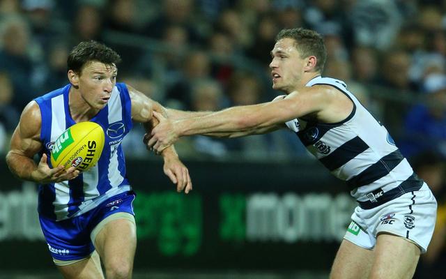 Geelong captain Joel Selwood to back North Melbourne's Brent Harvey at AFL tribunal despite high hit