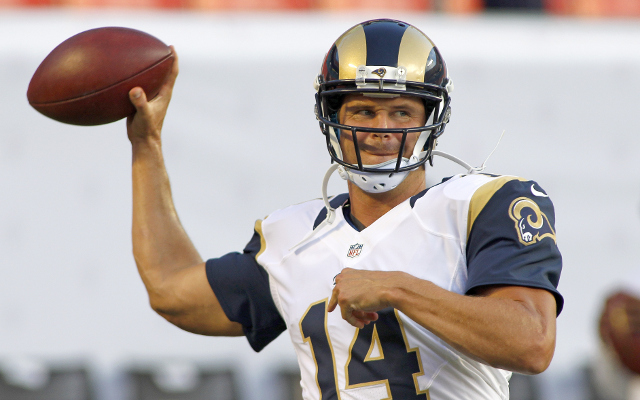 REPORT: St. Louis Rams poised to start Austin Davies at QB