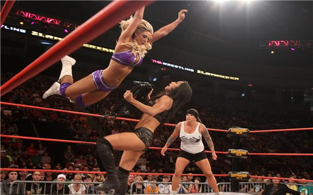 Taryn Terrell Interview: TNA Wrestler, Stuntwoman, Actress, Model, Champion