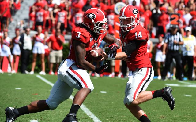 (Video) Touchdown or not? Georgia RB Todd Gurley scores Superman-esque touchdown