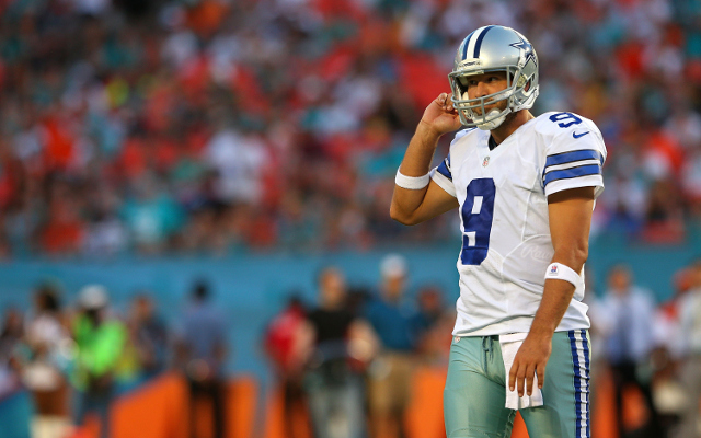 "Dallas Cowboys QB Romo ""feeling fine"" after trip to London, may practice this week"