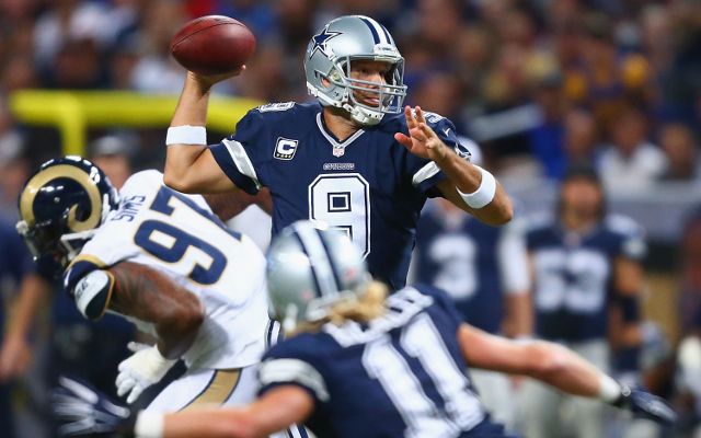 (Video) Dallas Cowboys QB Tony Romo throws 68-yard touchdown pass