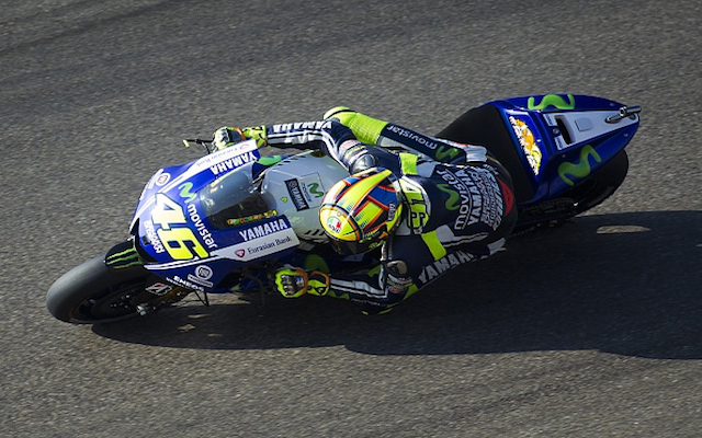 (Video) MotoGP legend Valentino Rossi knocked unconscious in horror crash at Aragon GP