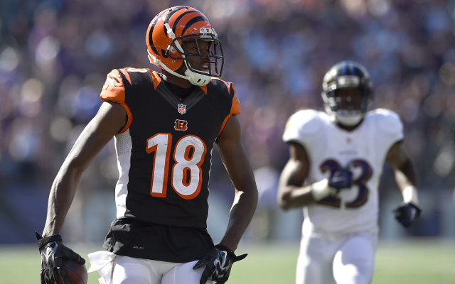 OUT: Cincinnati Bengals WR A.J. Green inactive