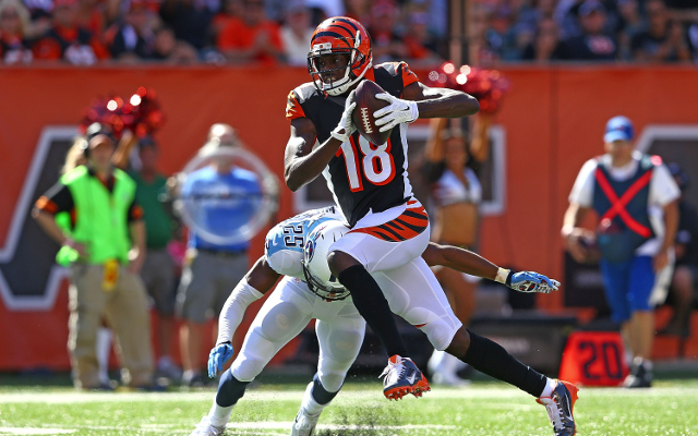 INJURY: Cincinnati Bengals WR A.J. Green ruled out for Sunday against Indianapolis Colts