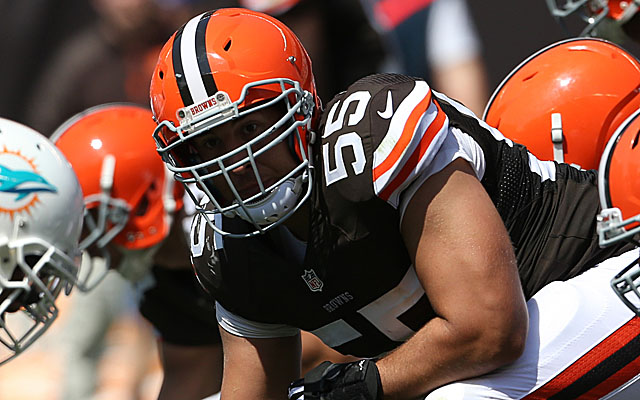 INJURY: Cleveland Browns lose Pro Bowl Center Mack for year