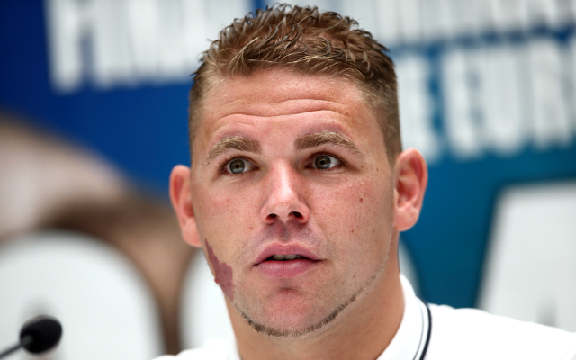 (Video) Chris Eubank Jr fails to show for Billy Joe Saunders press conference