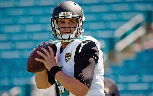 INJURY: Jacksonville Jaguars QB Bortles could miss game with sprained foot