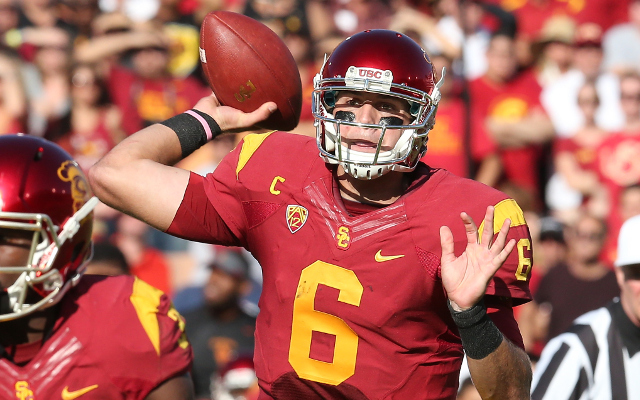 Holiday Bowl: #24 USC holds off Nebraska rally and wins, 45-42