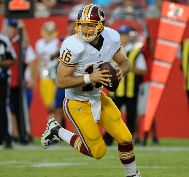 INJURY: Colt McCoy goes to injured reserve for Washington Redskins