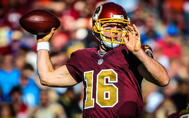 Washington Redskins re-sign backup QB Colt McCoy