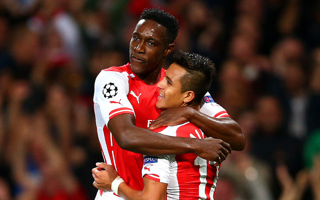 Arsenal star Alexis Sanchez SENDS MESSAGE to injured striker Danny Welbeck