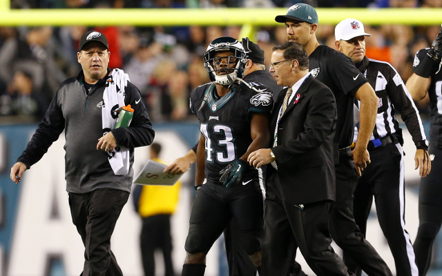 INJURY: Philadelphia Eagles RB Darren Sproles has sprained MCL