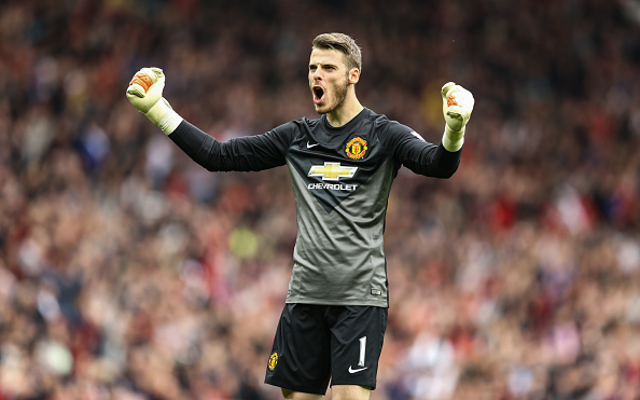 Louis van Gaal believes Man United keeper David de Gea still needs to improve