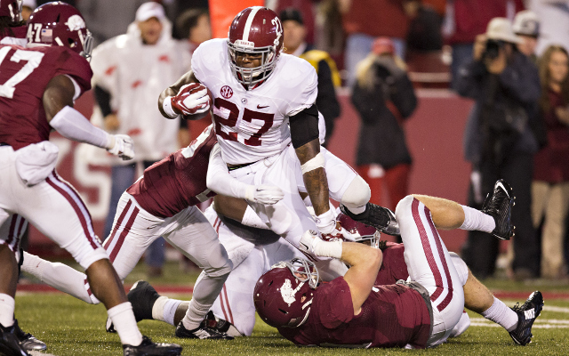 (Video) Alabama takes a 45-0 lead on 41-yard TD by RB Derrick Henry