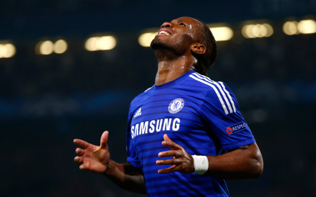 Didier Drogba goal video vs Leicester: Chelsea legend nets eighth of season as Blues equalise in style