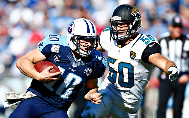 Tennessee Titans quarterback Jake Locker expected to miss next game